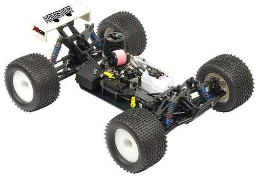 Hong Nor X1X CRT Truggy Chassis
