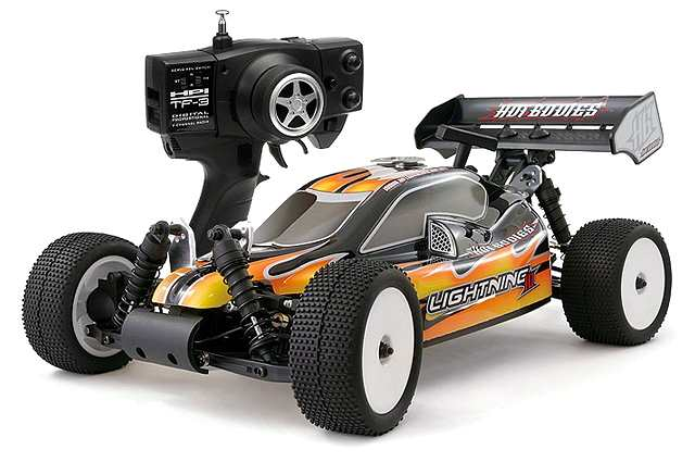 Hot Bodies Lightning-10-Sport - 1:10 Nitro Buggy