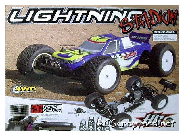 Hot Bodies Lightning Stadium - 1:8 Nitro Truck