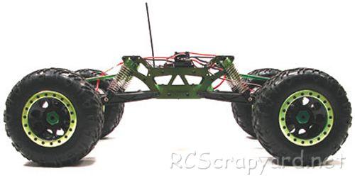 Integy AFA01 iRock Crawler Chassis