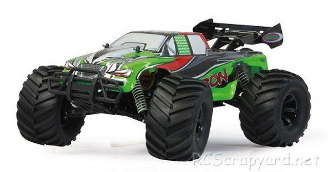 Jamara Akron Lipo Bl - 1:10 Electric Monster Truck