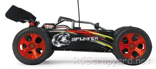 Jamara Splinter Chassis