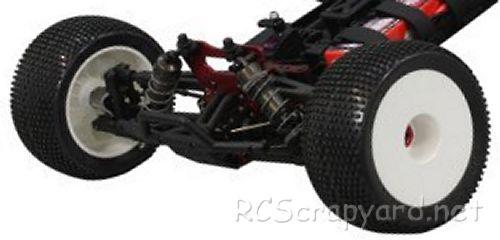 Jamara X2-CRT BL Chassis