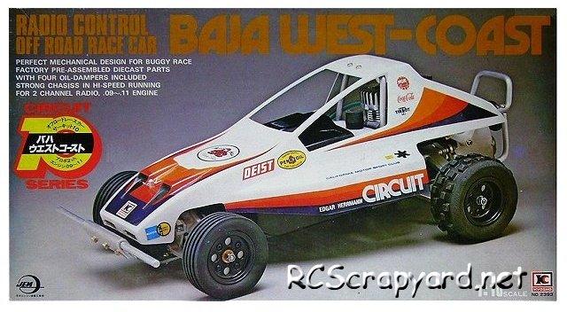 Kyosho Baja West-Coast - Circuit 10 - Nitro Buggy