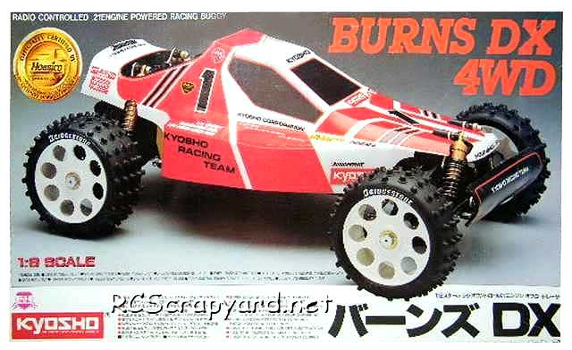 Kyosho Burns DX 4WD Buggy