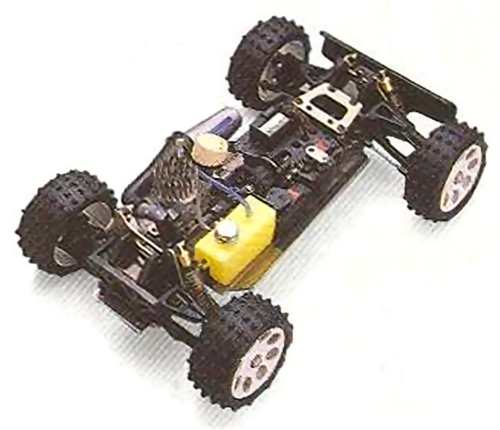 Kyosho Burns DX Chassis
