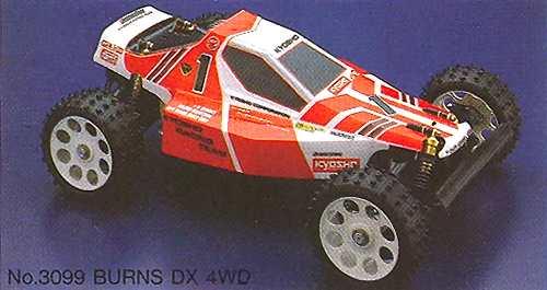 Kyosho Burns DX 4WD