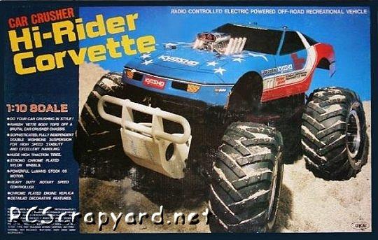 Kyosho Hi-Rider Corvette