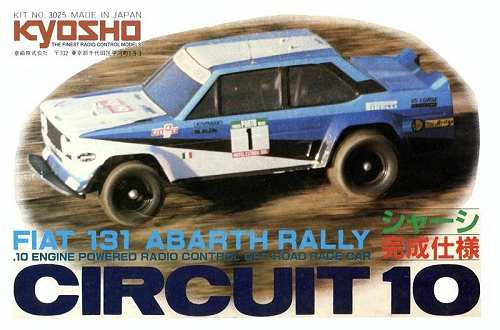 Kyosho Fiat 131 Abarth Rally