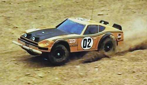 Kyosho Circuit 20 Nissan Fairlady 240Z
