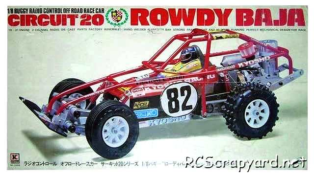 Kyosho Circuit 20, Rowdy Baja