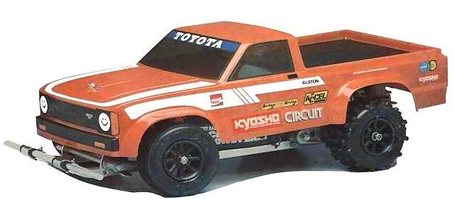 Kyosho Circuit 20, Toyota Hilux