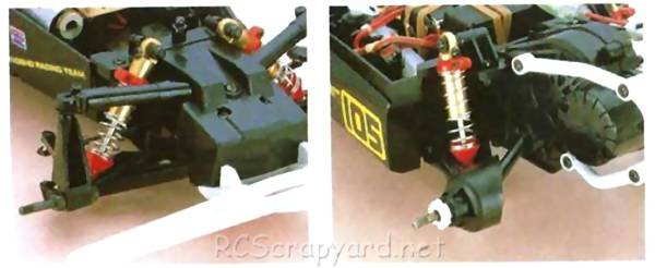 Kyosho Cosmo Chassis