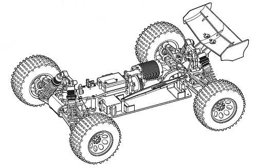 Kyosho DBX-VE Chassis