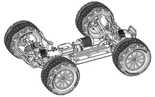 Kyosho DMT-VE Chassis