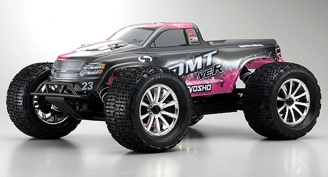 Kyosho DMT VE-R - 1:10 Electric RC Monster Truck