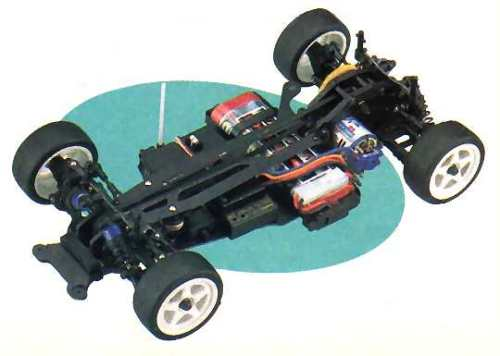 Kyosho PureTen EP Spider TF-3 Chassis