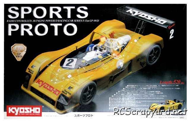 Kyosho F-Ten Sports Proto