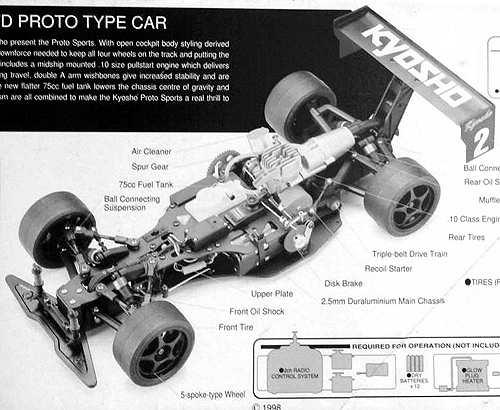 Kyosho F-Ten Sports Proto Chassis