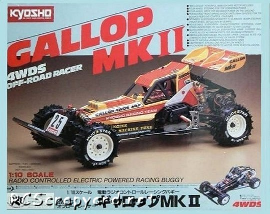 Kyosho Gallop-Mk-II
