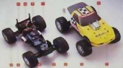 Kyosho HiRider II Chevy Corvette Chassis