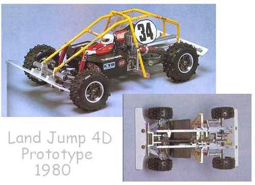 Kyosho Land Jump 4D Prototype