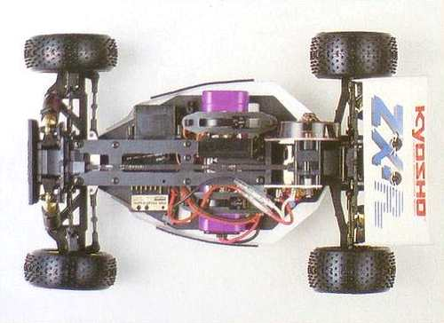 Kyosho Lazer ZX-R Chassis