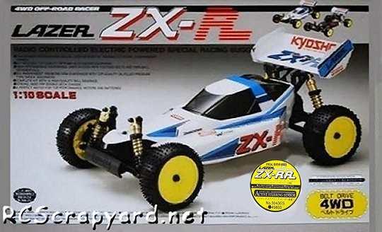 Kyosho Lazer ZX-RR