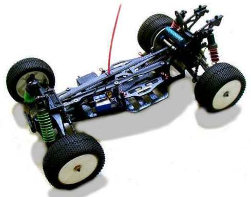 Kyosho Lazer ZX-S Chassis