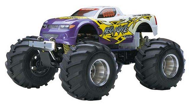 Kyosho Mega Force - 1:10 Nitro RC Monster Truck