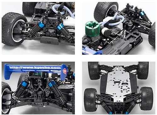 Kyosho Half8 Mini Inferno ST 09 Chassis
