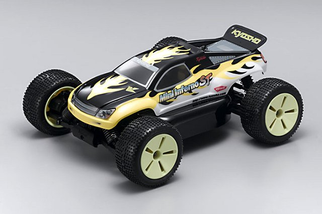 Kyosho Mini Inferno ST - 1:16 Electric RC Stadium Truck