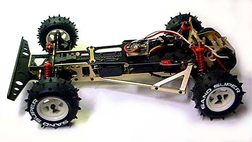 Kyosho Optima Gold Chassis