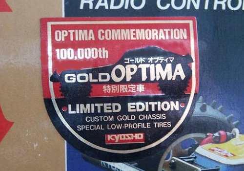 Kyosho Optima Gold Badge