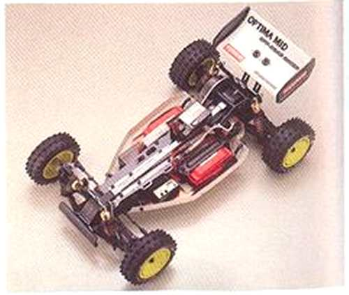 Kyosho Optima Mid Custom Special Chassis