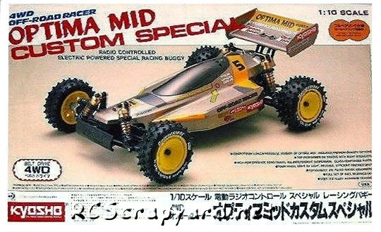 Kyosho Optima-Mid Custom Special