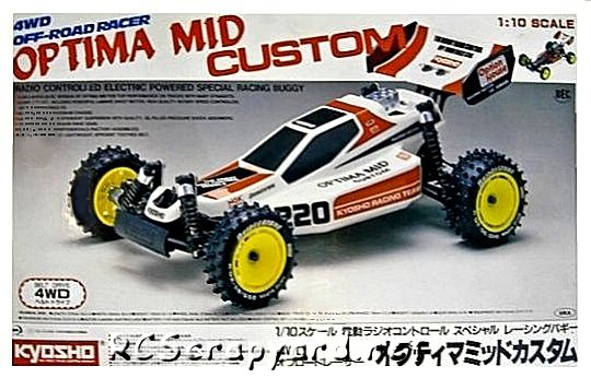 Kyosho Optima-Mid Custom