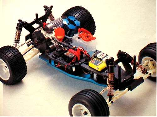Kyosho Outlaw Rampage Pro Chassis