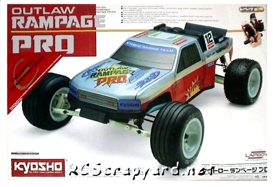 Kyosho Outlaw-Rampage-Pro