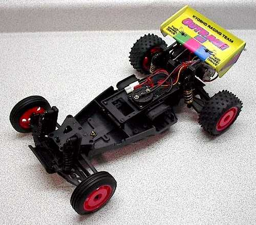 Kyosho Outrage Chassis
