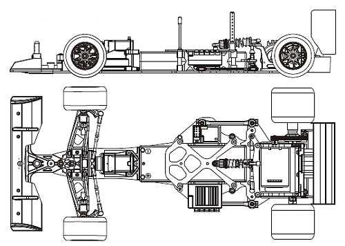 Kyosho Plazma Formula - 30412 Chassis