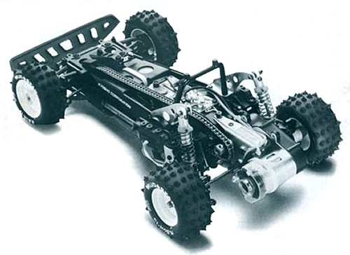 Kyosho Progress 4WDS Chassis