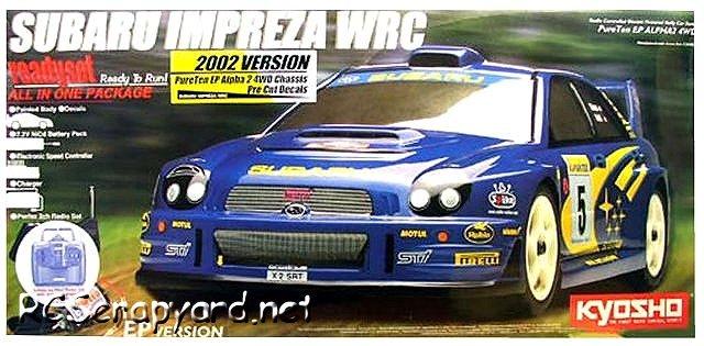 Kyosho PureTen EP Alpha 2 - 1:10 Electric WRC Car