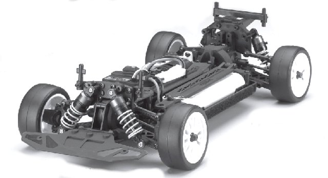 Kyosho PureTen EP Alpha 3 Chassis - 1:10 Electric Touring Car