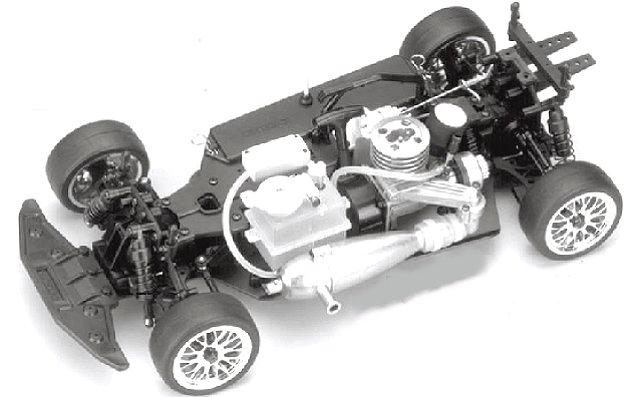 Kyosho PureTen GP Alpha 2 Chassis - 1:10 Nitro Touring Car