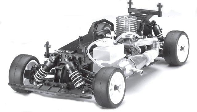 Kyosho PureTen GP Alpha 3 Chassis - 1:10 Nitro Touring Car