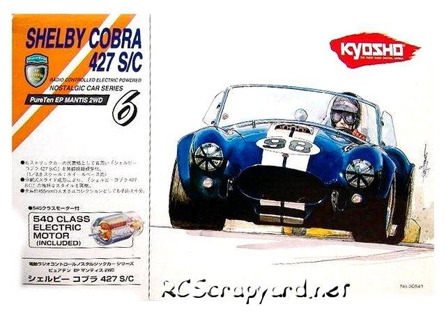 Kyosho PureTen EP Mantis - 1:10 Electric Touring Car