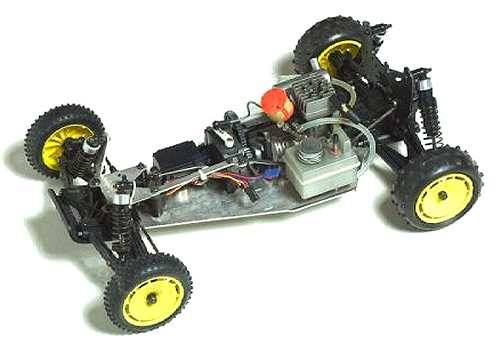 Kyosho Rampage GP-10 - 3072 Chassis
