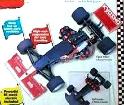 Kyosho SR5 Chassis