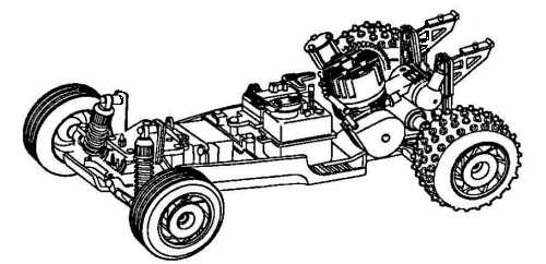 Kyosho Sandmaster 10 Chassis